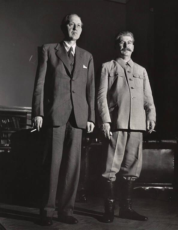 Harry Hopkins and Josef Stalin